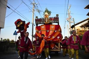 『六所神社例大祭の様子13』の画像