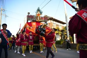 『六所神社例大祭の様子14』の画像