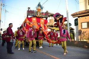 『六所神社例大祭の様子16』の画像