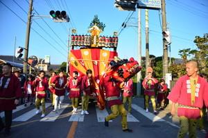 『六所神社例大祭の様子17』の画像