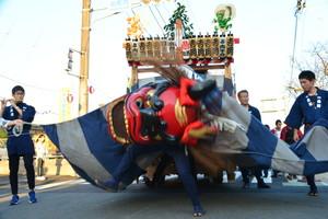 『六所神社例大祭の様子』の画像