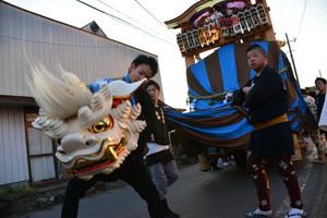 『六所神社例大祭の様子36』の画像