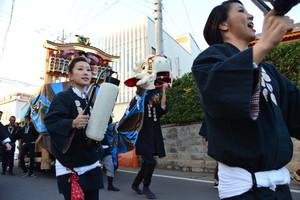 『六所神社例大祭の様子37』の画像