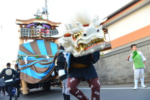 『六所神社例大祭の様子38』の画像
