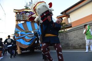 『六所神社例大祭の様子39』の画像