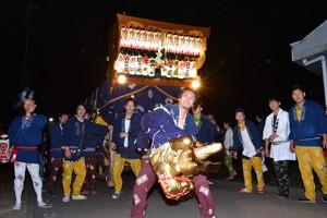 『六所神社例大祭の様子54』の画像