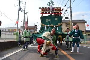 『六所神社例大祭の様子70』の画像