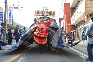 『六所神社例大祭の様子71』の画像