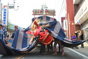 『六所神社例大祭の様子73』の画像