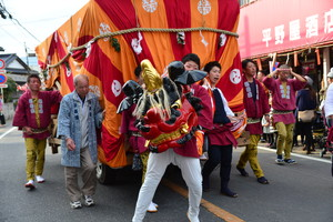『六所神社例大祭の様子76』の画像