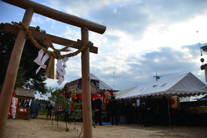 『六所神社例大祭の様子79』の画像