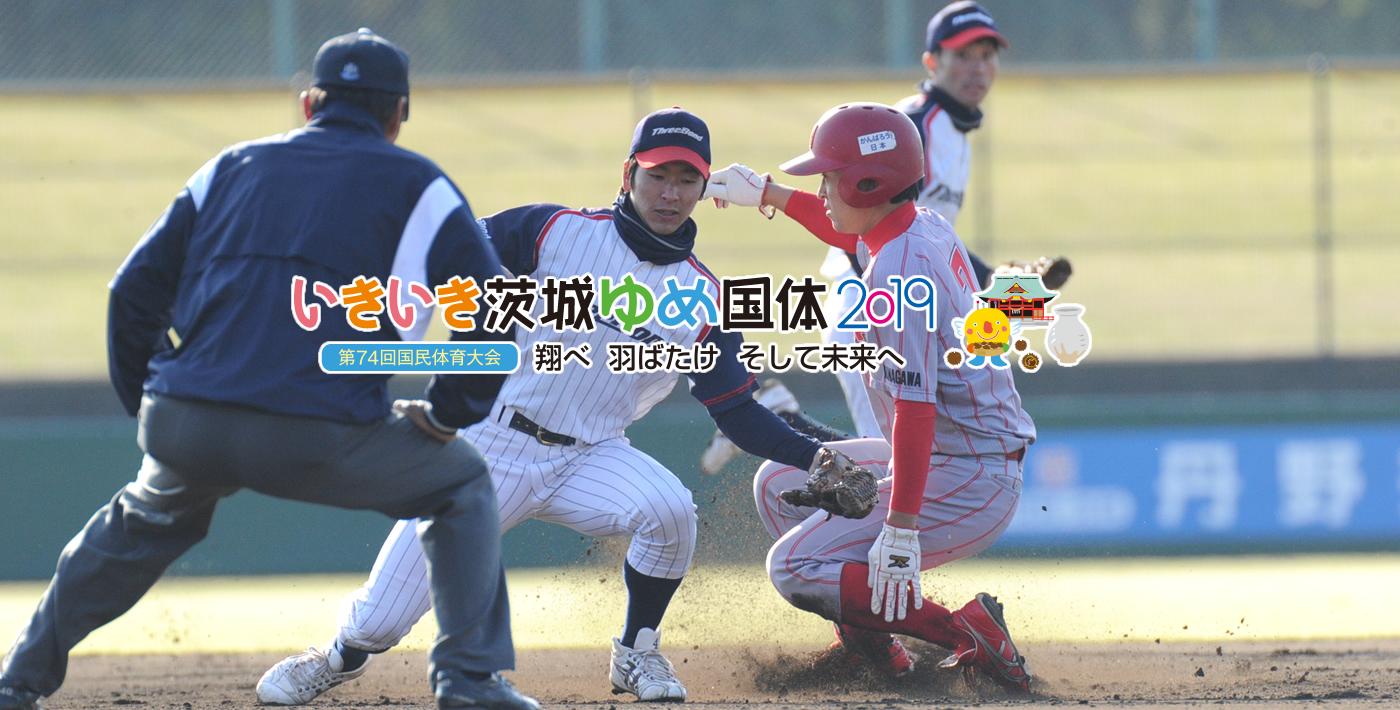 笠間市国体 軟式野球